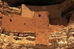 Le château de Montezuma Images libres de droits