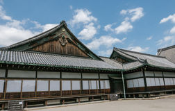 Le château de Nijo de palais de terre plate à Kyoto Photos libres de droits