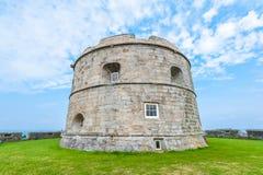 Le château de Pendennis gardent Photos stock