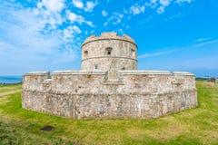 Le château de Pendennis gardent Images libres de droits