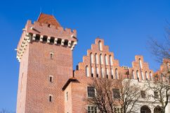 Le château de Poznan, Pologne photo libre de droits