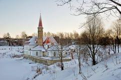 Le château de prieuré Photo stock