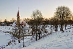Le château de prieuré Images stock