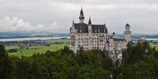 Le château de roi fou Photo stock