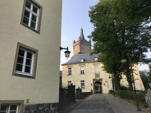 Le château de Schwanenburg photos stock