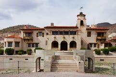 Le château de Scotty Image stock