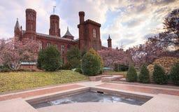 Château de Smithsonien à Washington, C.C Photographie stock