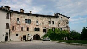Le château de Spilimbergo Photographie stock libre de droits
