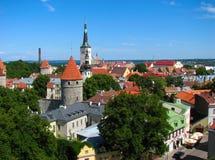 Le château de Tallinn Image libre de droits