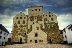 Le château de Turku Photos libres de droits
