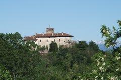 Le château de Villalta médiéval en Italie Images stock