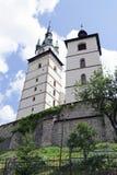 Le château de ville de Kremnica Photo stock