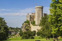 Le château de William le conquérant photographie stock libre de droits