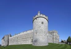 Le château de Windsor mure Berkshire Angleterre photo stock
