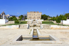 Le château de Zisa à Palerme, Sicile l'Italie Photos libres de droits