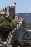 Le château du amarre - Sintra - le Portugal Images libres de droits