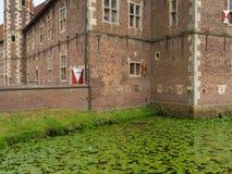 Le château du raesfeld en Allemagne Image libre de droits