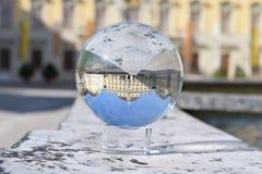 Le château en verre images stock