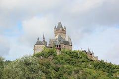Le château impérial de Cochem (Reichsburg), Allemagne photo stock