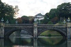 Le château impérial de palais de Tokyo photographie stock libre de droits