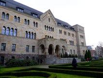 Le château impérial de Wilhelm Ii à Poznan photo stock