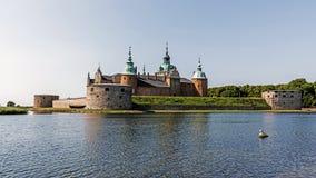 Le château légendaire de Kalmar Photographie stock