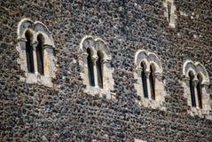 Le château médiéval dans Paterno sicily Images stock