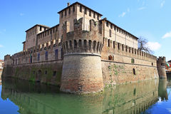 Le château médiéval de Fontanellato, Parme photographie stock libre de droits