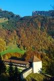 Le château médiéval de Gruyeres, Suisse Photographie stock libre de droits