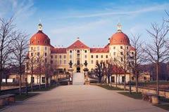 Le château Moritzburg photo libre de droits