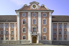 Le château neuf dans Meersburg Photo libre de droits