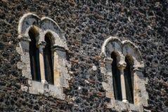 Le château normand dans Paterno sicily Photographie stock