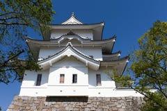 Le château original de Ninja d'Iga Ueno Photos libres de droits