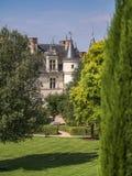 Le château royal à Amboise dans le Val de Loire dans les Frances Images libres de droits