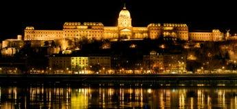 Le château royal à Budapest Images stock
