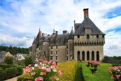 Le château royal de Langeais, la Loire photos libres de droits