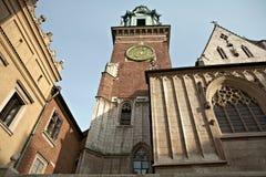 Le château royal de Wawel Image libre de droits