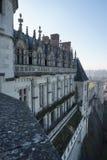 Le Château royal d'Amboise Images libres de droits