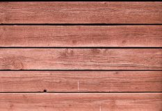 Le chêne peint par rouge grunge d'épluchage embarque le fond photographie stock libre de droits