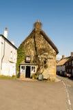 Le chêne royal, le bar historique avec de vraies bières anglaises régionales et le Cu local Image libre de droits