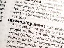 Le chômage photo stock