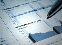Le chômage photographie stock