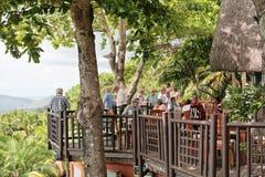 Le Chamarel Restauracja Zdjęcia Royalty Free