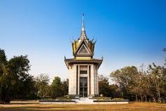 Le champ de massacre, Choeung Ek, Phnom Penh, Cambodge. photos stock