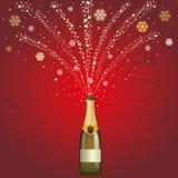 le champagne célèbrent le fond illustration stock