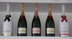 Le champagne de Moet et de Chandon a présenté à Miami 2019 s'ouvrent au stade de hard rock à Miami image stock
