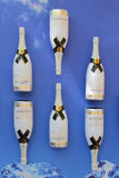 Le champagne de Moet et de Chandon a présenté au centre national de tennis pendant l'US Open 2014 Photographie stock libre de droits