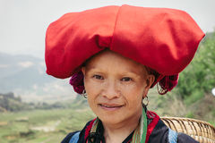 Le champignon a formé la formation de roche féerique de cheminées en vallée de Pasabag Images libres de droits