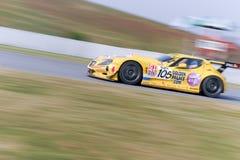 Le championnat de la FIA GT image libre de droits