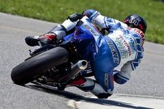 Le championnat du Canada Superbike de pièces (pratique) peut Photo libre de droits